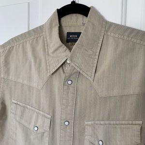 G-Star Raw snap button down shirt